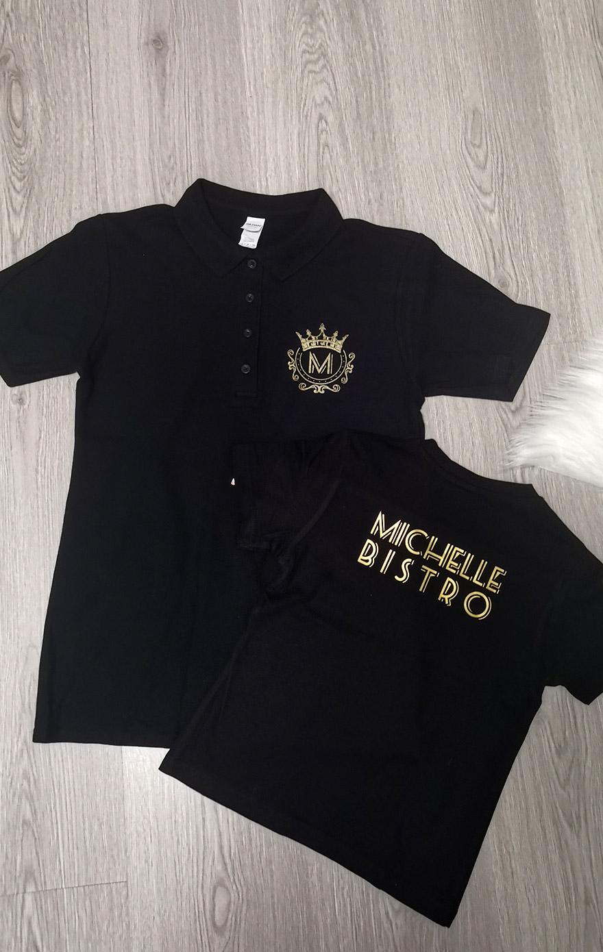 tričko s logom